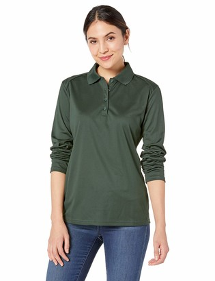 Ashe Xtream Women's ACTY-75111-Eperformance Snag Protection Long-Sleeve Polo