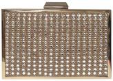 Sondra Roberts Embellished Stone Box Clutch