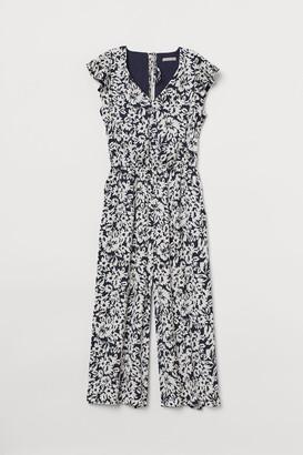 H&M Flutter-sleeved jumpsuit