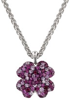 Effy Jewelry Balissima Ruby & Pink Sapphire Flower Pendant, 2.98 TCW