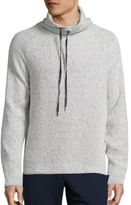 Madison Supply Cotton Blend Funnelneck Sweater