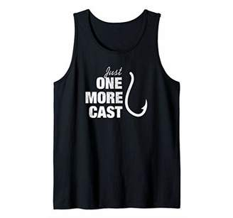 Funny Just One More Cast Fisherman Quote Men Women Gift Tank Top