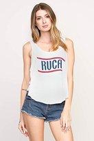 RVCA Junior's Flag 4Th Americana Lose Fit Tank