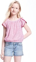 Old Navy Striped Off-the-Shoulder Top for Girls