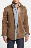 Jeremiah 'Colt' Regular Fit Sueded Cotton Blend Shirt Jacket