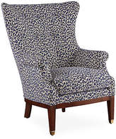 Michael Thomas Collection Callahan Wingback Chair - Navy
