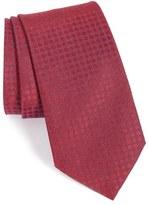 John Varvatos Men's Dot Silk Tie