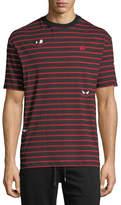 McQ Striped Jersey T-Shirt