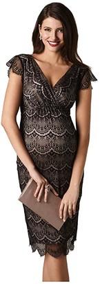 Tiffany Rose Imogen Maternity Shift Dress (Black) Women's Dress