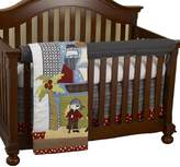 Cotton Tale Designs Front Crib Rail Cover Up Set