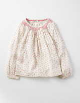 Boden Cosy Smocked Top