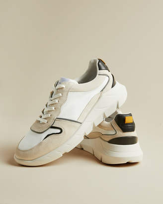 Ted Baker SEARLS Colour block leather sneakers