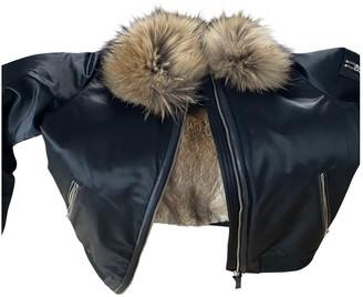 Mackage Black Rabbit Jacket for Women