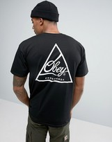 Obey T-shirt With Triangle Back Print