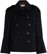 Burberry Townhill wool and cashmere-blend pea coat