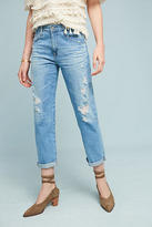 AG Jeans Ex-Boyfriend Mid-Rise Straight Jeans