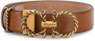 Salvatore Ferragamo Gancini adjustable belt