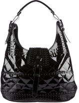 Burberry Quilted Patent Hobo