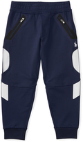 Ralph Lauren French Navy Piqué Track Pants - Toddler