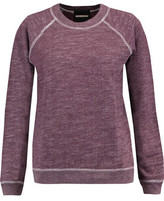Monrow Stretch-Jersey Sweatshirt