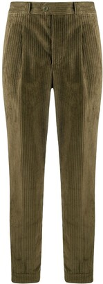 Pt01 Corduroy Tapered Cotton Trousers