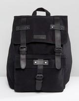 Barney's Originals Barneys Leather Backpack In Black