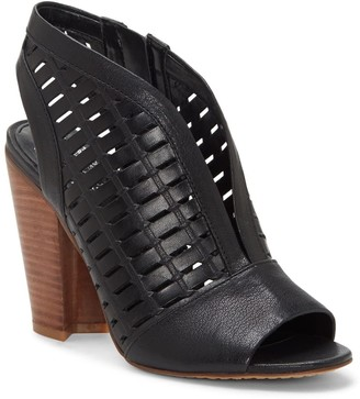 Vince Camuto Korsta Perforated Block Heel Sandal