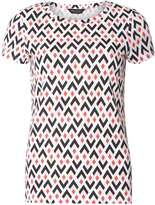 Multi Colour Geometric Diamond Print T-Shirt