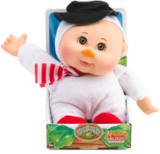 9in Holiday Helpers Snowman Doll
