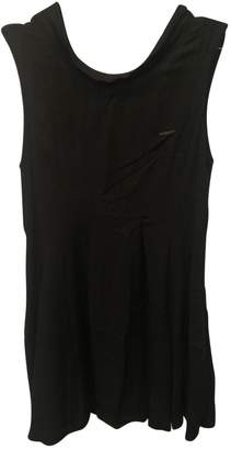 HUGO BOSS Black Viscose Dresses
