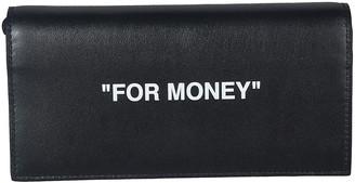 Off-White Quote Yen Wallet
