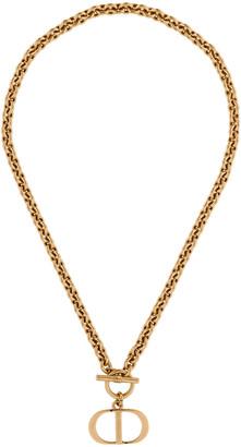 Christian Dior Montaigne Toggle Necklace
