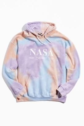 Urban Outfitters NASA Tie-Dye Hoodie Sweatshirt