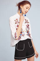 Hd In Paris Ondine Floral Poplin Blouse