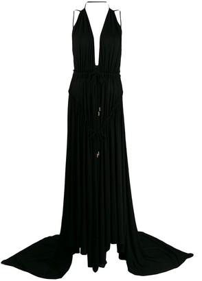 DSQUARED2 Light Crepe Long Dress