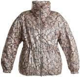 Isabel Marant Calvin paisley embossed-print padded jacket