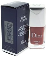 Christian Dior Vernis Couture Color Gel Shine and Long Wear Nail Lacquer, No. 588 Tribale, 0.33 Ounce