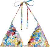 Stella McCartney Printed Triangle Bikini Top