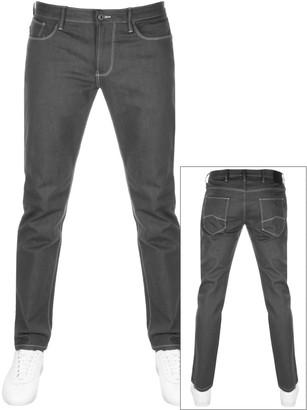 Giorgio Armani Emporio J06 Slim Fit Jeans Grey