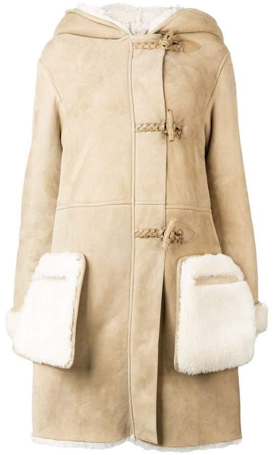 Golden Goose hooded shearling coat