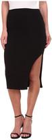 LnA Double Layer Pencil Skirt