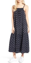Current/Elliott Women's The Holly Cotton Midi Dress