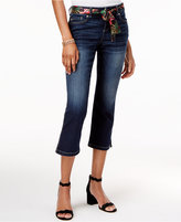 INC International Concepts Belted Curvy Skimmer Jeans, Created for Macy's
