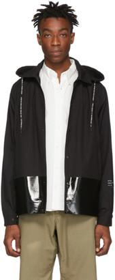 MONCLER GENIUS 7 Moncler Fragment Hiroshi Fujiwara Black Giubbotto Ska Coat