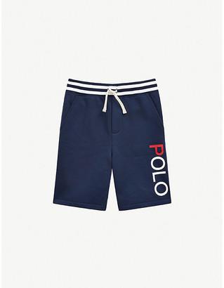 Ralph Lauren Logo-print cotton shorts 2-14 years