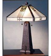 Meyda Tiffany 70967 23 Inch H Pasadena Rose Table Lamp