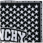 Givenchy star printed scarf - women - Silk - One Size