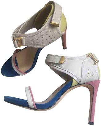 Preen Multicolour Leather Sandals