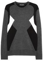 Neil Barrett New Modernist Fine-knit Wool Jumper