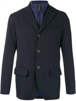 Canali buttoned jacket - men - Cotton/Polyester - 48